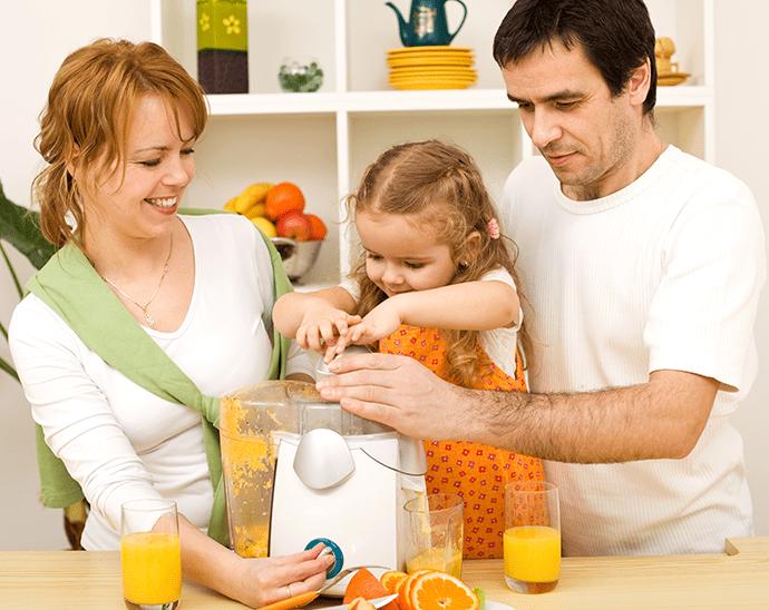 Čerstvá ovocná šťáva je skvělá součást zdravé životosprávy
