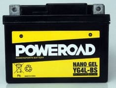 Poweroad akumulator za motor YG4L-BS gel (12V 4Ah, 114 x 71 x 86)