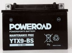Poweroad akumulator za motor YTX9-BS (brez vzdrževanja, 12V 8Ah)