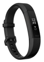 Fitbit Alta HR Black Gunmetal, Large