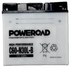 Poweroad akumulator za motor C60-N30L-B (standardni, 12V 28Ah)