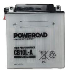 Poweroad akumulator za motor CB10L-A (standardni, 12V 11Ah)