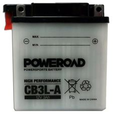 Poweroad akumulator za motor CB3L-A (standardni, 12V 3Ah, 98 x 56 x 111)
