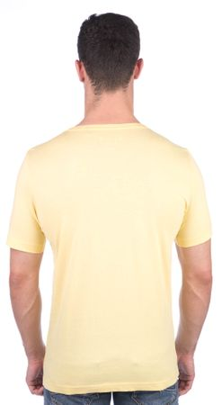 Mustang férfi póló S sárga  f2ca08c126