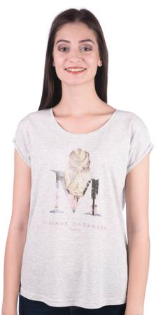 Mustang T-shirt damski L szary