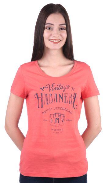 Mustang dámské tričko S červená