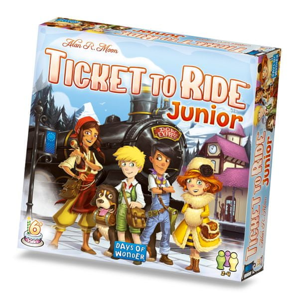 ADC Blackfire Ticket to Ride Junior (1/6)