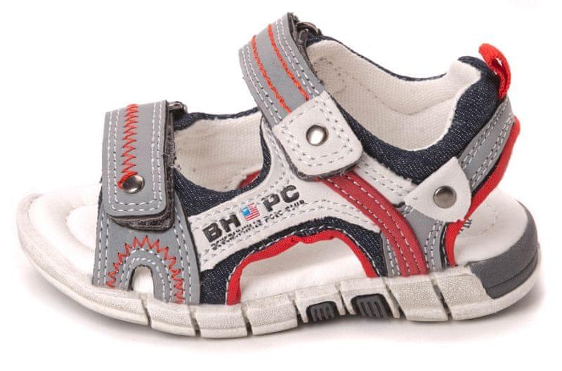 Beverly Hills Polo dětské sandály 26 tmavě modrá