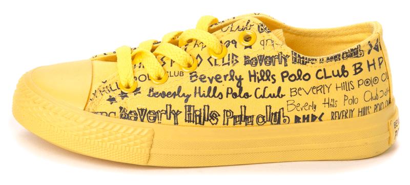 Beverly Hills Polo dětské tenisky 36 žlutá