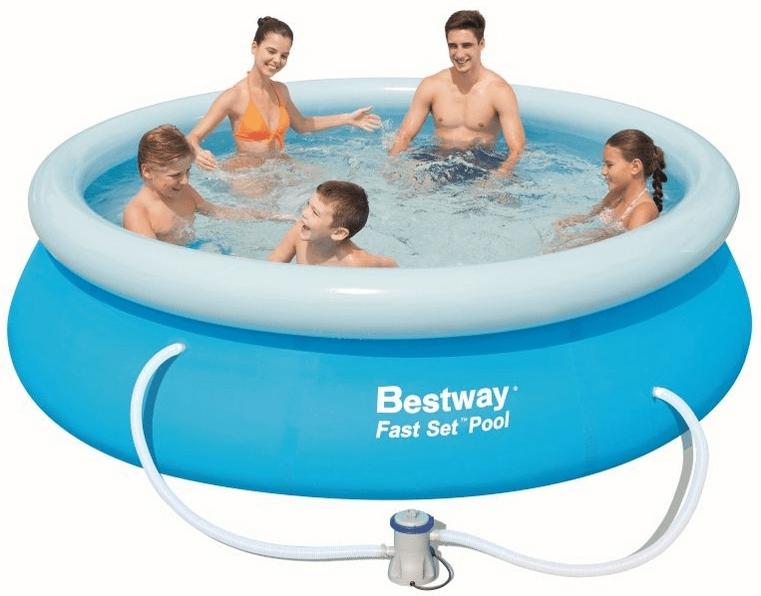 Bestway Bazén 3,05 x 0,76 s kartušovou filtrací