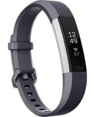 Fitbit opaska fitnes Alta HR Blue Gray, Large