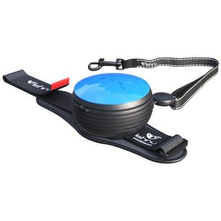Lishinu povodec Light Lock, za pse in mačke do 8 kg, moder