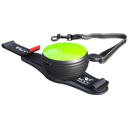 Lishinu povodec Light Lock, za pse in mačke do 8 kg, zelen