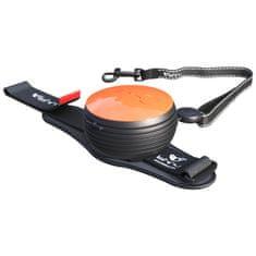 Lishinu Smycz Light Lock dla psów i kotów do 8 kg, pomarańczowa