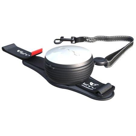 Lishinu povodec Light Lock, za pse in mačke do 8 kg, bel