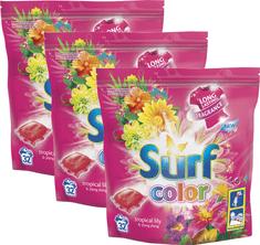 Surf Color tablety Tropical Lily & Ylang Ylang, 3x 32 praní