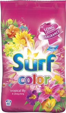 Surf Color prášok Tropical Lily & Ylang Ylang, 40 praní