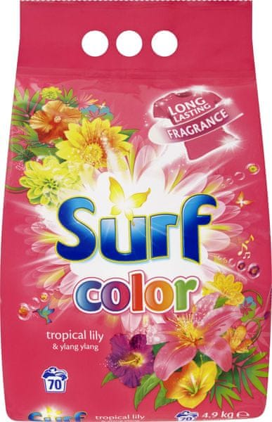 Surf Color prášek Tropical Lily & Ylang Ylang, 70 praní