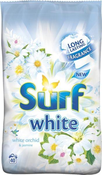 Surf White prášek Orchid & Jasmine 2,8 kg (40 praní)