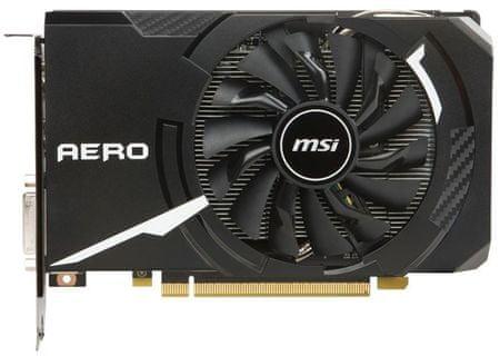 MSI grafična kartica GeForce GTX 1060 AERO ITX 6GB GDDR5