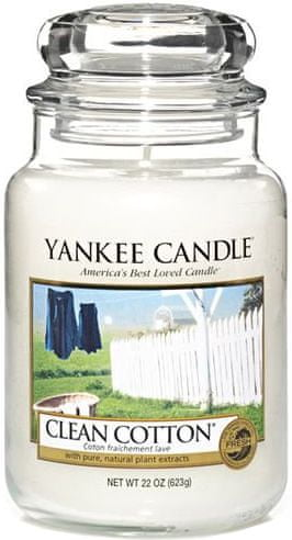 Yankee Candle Clean Cotton Classic velký 623 g