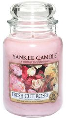 Yankee Candle Fresh Cut Roses Classic velký 623 g