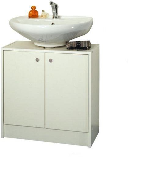 LUNA, skříňka pod umyvadlo LU02, bílá