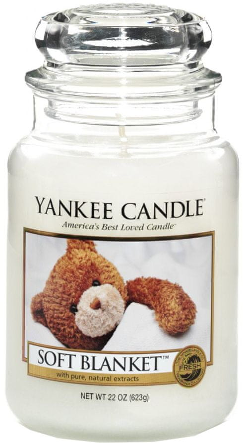 Yankee Candle Soft Blanket Classic velký 623 g