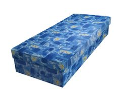 Válenda JUNIOR 80x195 cm, modrá látka