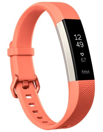 Fitbit Alta HR Coral, Large