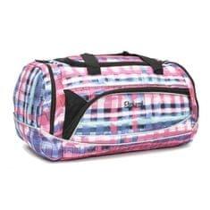 Travel and More športna torba Rucksack 302, roza-vijolična