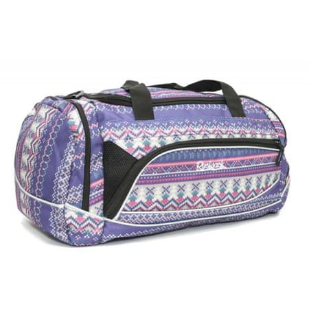 Travel and More športna torba Rucksack 302, vijolično-roza