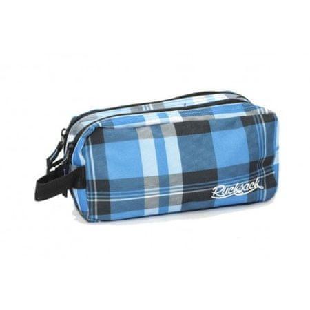 Travel and More kozmetična torba Rucksack 701 modro-bela