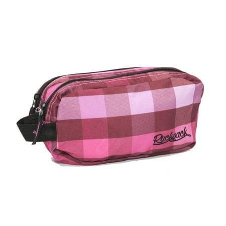 Travel and More kozmetična torba Rucksack 701 roza-bela