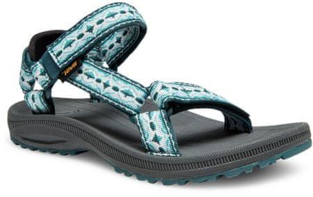 Teva ženski sandali Winsted Antigua, zelenomodri, 38