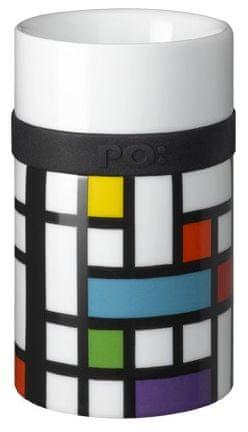 PO Ring Mug porcelánový hrnek Lattice 250 ml