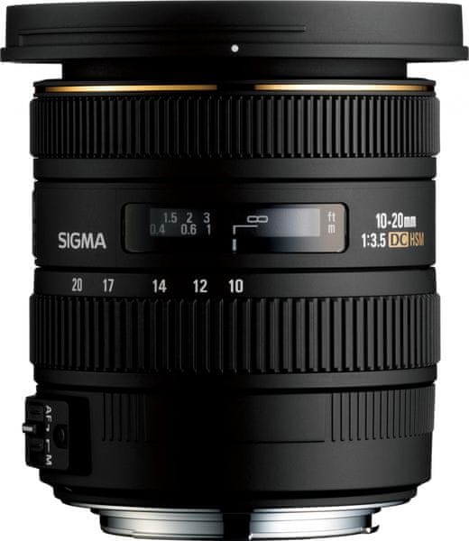 Sigma 10-20 mm F3,5 EX DC OS HSM pro Canon (4 roky záruka)