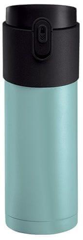 PO Pao termoska s louhovacím sítkem 350 ml modrá
