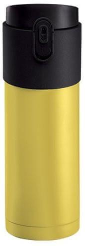 PO Pao termoska s louhovacím sítkem 350 ml žlutá