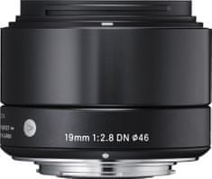Sigma 19/2.8 DN ART pro Sony E Mount Black