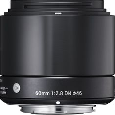 Sigma 60/2,8 DN ART Black pro Olympus micro 4/3