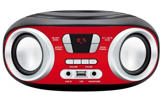 Manta Chilli Boombox z Bluetooth MM9210BT - Odprta embalaža