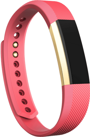 Fitbit Alta, Pink/Gold, Large - rozbaleno