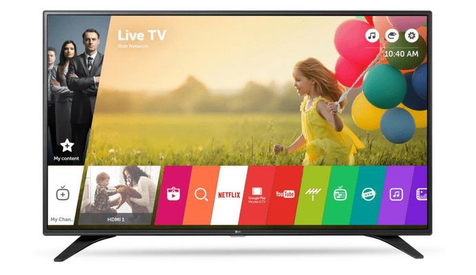 S pametnim televizorom dobit ćete pristup mnoštvu programa, filmova i serija na internetu.