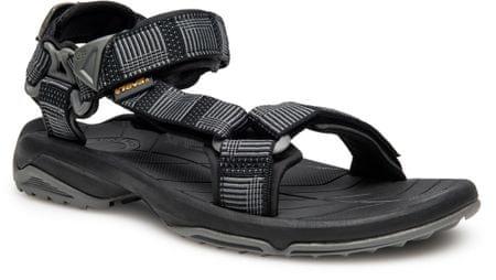 Teva moški sandali Terra Fi Lite Atitlan, črni, 41.5