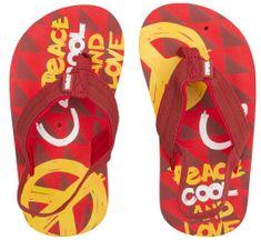 Cool Shoe otroške japonke Donovan Peace, rdeče