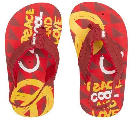 Cool Shoe otroške japonke Donovan Peace, rdeče, 27-28