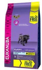Eukanuba suha hrana za pasje mladiče Puppy&Junior Large Breed, 15kg+3kg gratis - Poškodovana embalaža