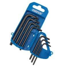 Draper Tools inbus torx ključi, 7-delni set (T10>T40)