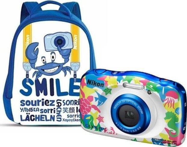 Nikon Coolpix W100 Backpack Kit Marine